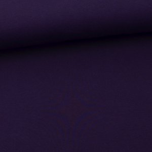 Sweat French Terry molletonné uni lilas